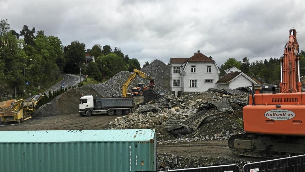 GRAVES OG GRAVES: Neste år kommer det boliger her. Prosjektet Kolbotn Hage er et av de største boligprosjektene på Kolbotn i moderne tid.