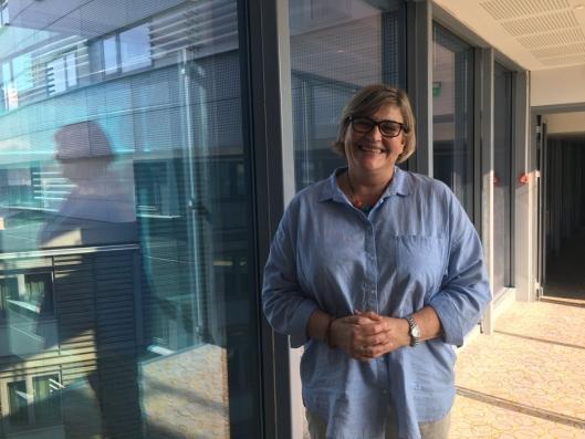 ER PÅ GARDERMOEN OGSÅ: Merete Bellingemo i Arbeiderpartiet er med i forhandlingsprosessen.