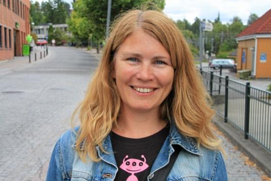 Virksomhetsleder i UTE Oppegård, Heidi Tomten.