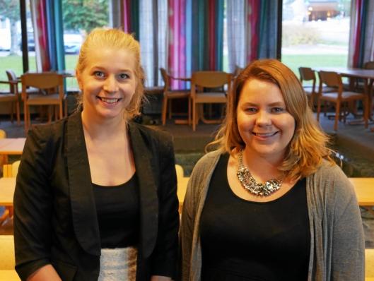 LOKALPOLITIKER: Ida Lindtveit sitter i kommunestyret sammen med Line Nordhaug for KrF.