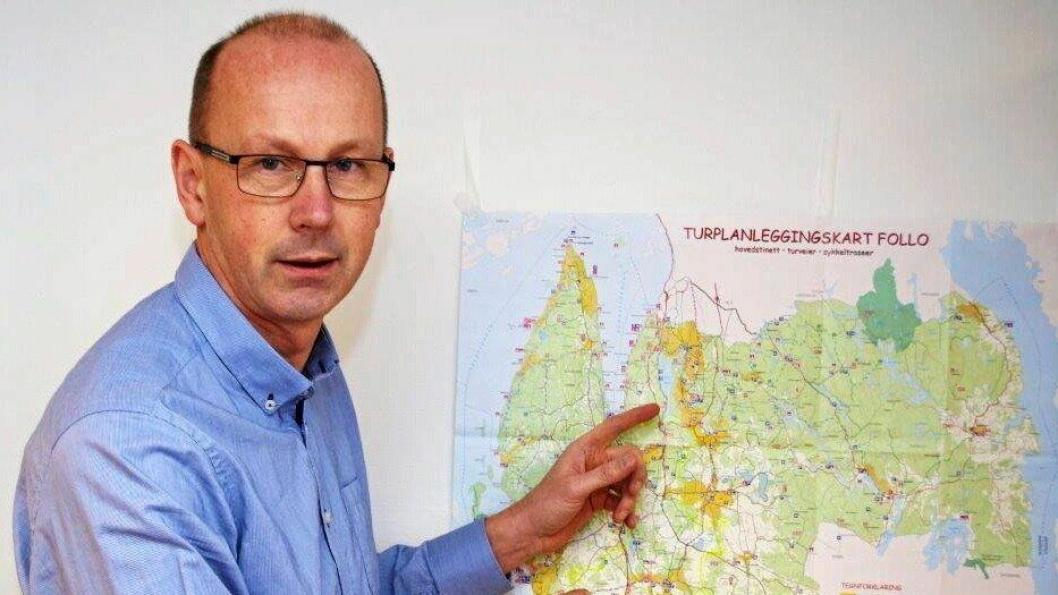 PROVOSERT: – Vil Oppegård kommune ha Vinterbro, kan vi få hele Kolbotn sentrum av dem i gjengjeld, sier ordførerern i Ås, Ola Nordahl.