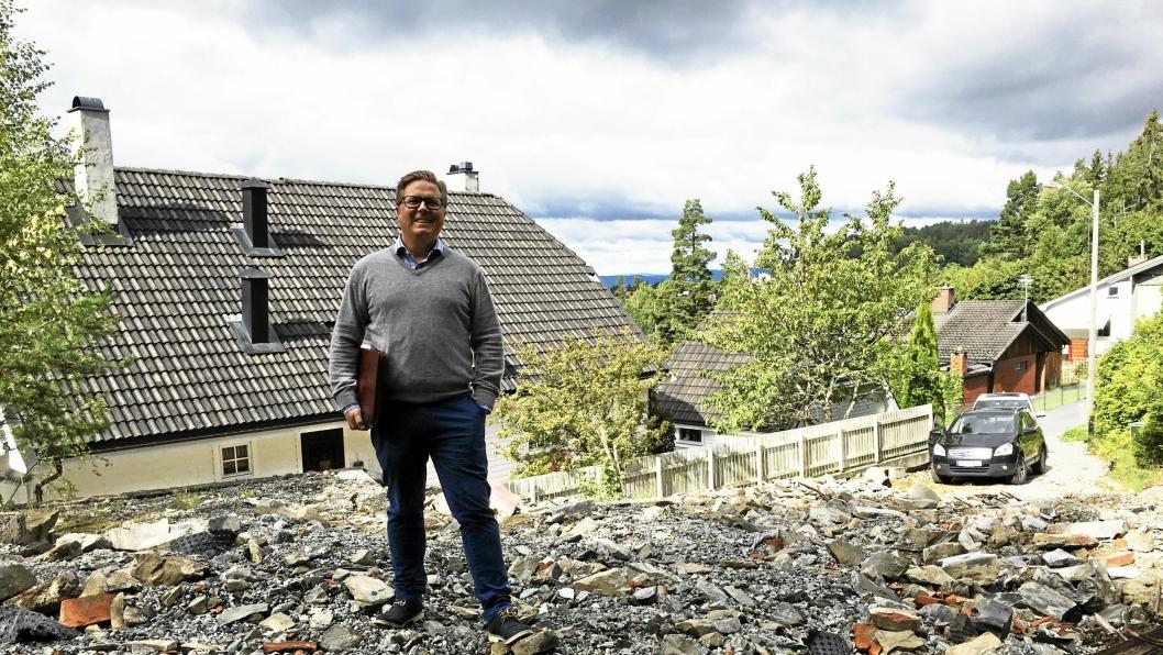 TROR PÅ FREMTIDEN: Andreas Wilsgård og hans AEKO EIendom er i kraftig vekst. Han tror mange sitter på bolig-skatter uten å vite alt det spennende som kan gjøres med tomten eller bygningene.