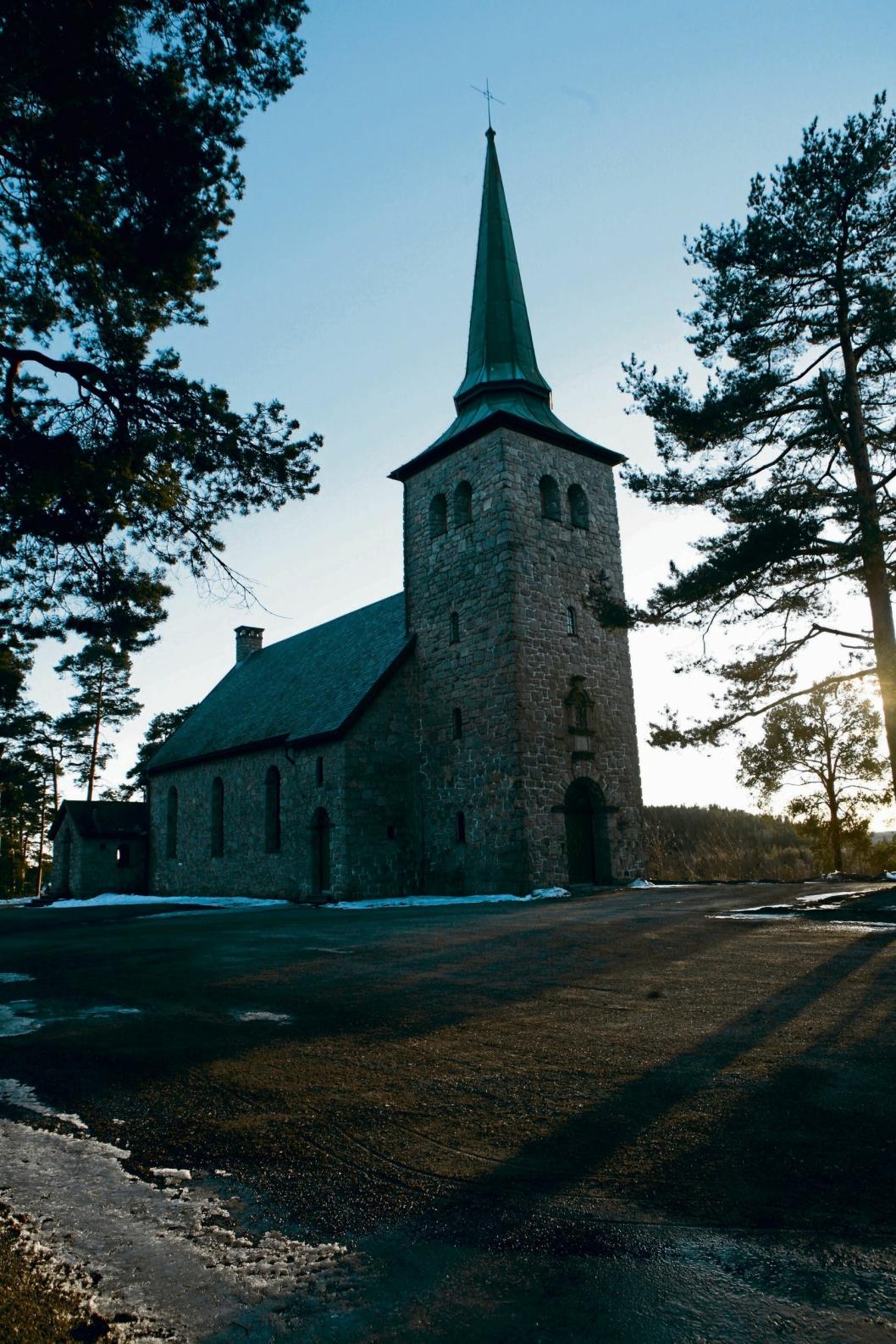 84 ÅR GAMMEL: Kolbotn kirke er tegnet av arkitekt Olav Olsson og er oppført i 1932.