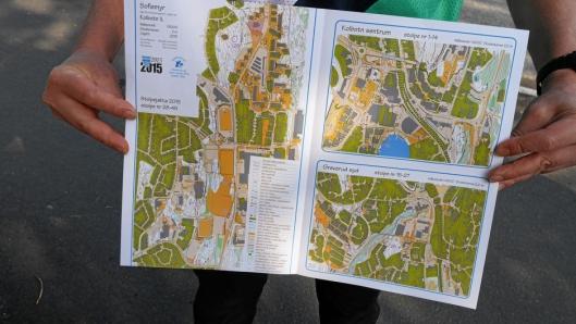 KART: Det er mange muligheter, mange turer og mange valgmuligheter. Alle står enkelt forklart i Stolpejakta-kartene.