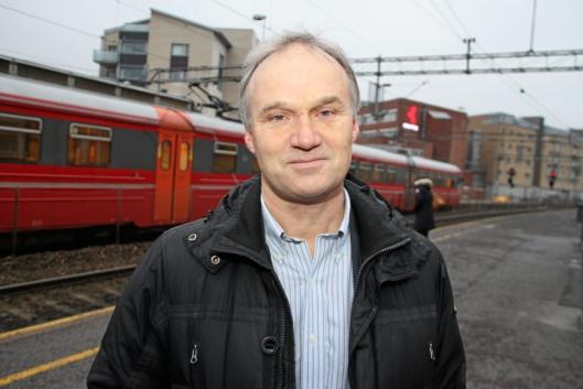 JERNBANESJEFEN: – NSB og CargoNet vil nå sørge for å få togene raskt tilbake i ordinær drift, sier konsernsjef Geir Isaksen i NSB, ifølge NTB.