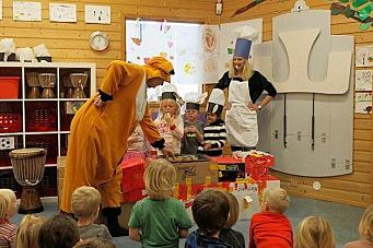 Heidundrandes bursdagsfest for barnehagen