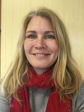 SVARER: Heidi Tomten i UTE Oppegård.