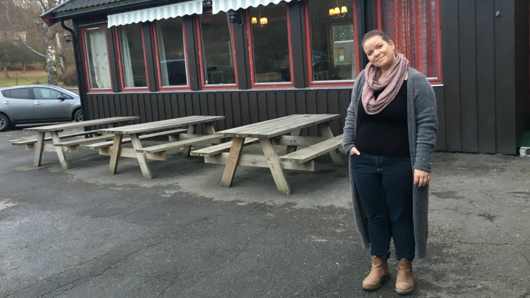 KLAR FOR MESSE: Susann Faugli åpner dørene på Grendehuset på Oppegård for storstilt hobbymesse denne helgen!