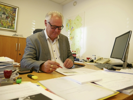 SVARTE PÅ EPOST: Konstituert rådmann Lars Henrik Bøhler. Foto: Yana Stubberudlien