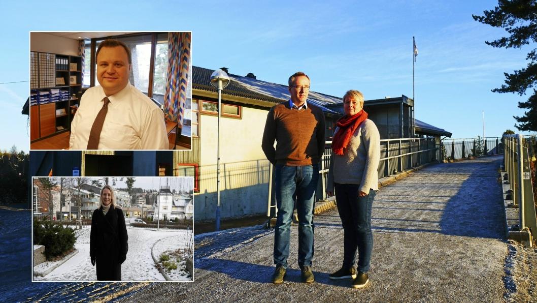 HAR ET HÅP: Harald Vaadal i KIL og Hege Frøyna i OI håper på en omgjørelse av brannsjefens vedtak om å nekte fyrverkerisalg. Ordfører Thomas Sjøvold (H) og varaordfører Siv Kaspersen (H) bekrefter at de vil behandle en klage i formannskapet.