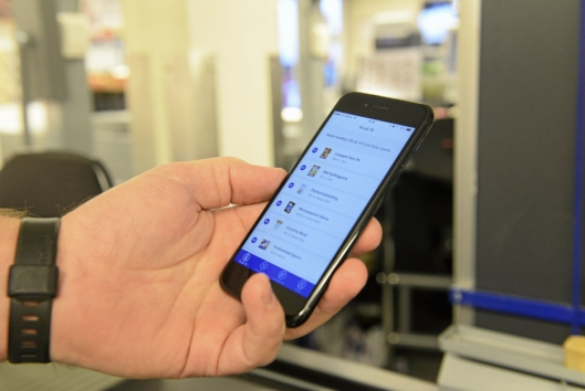ÆR OVERSIKTLIG: På den nye appen kan man se hva man har spart, samt ha oversikt over kvitteringer og kjøp.