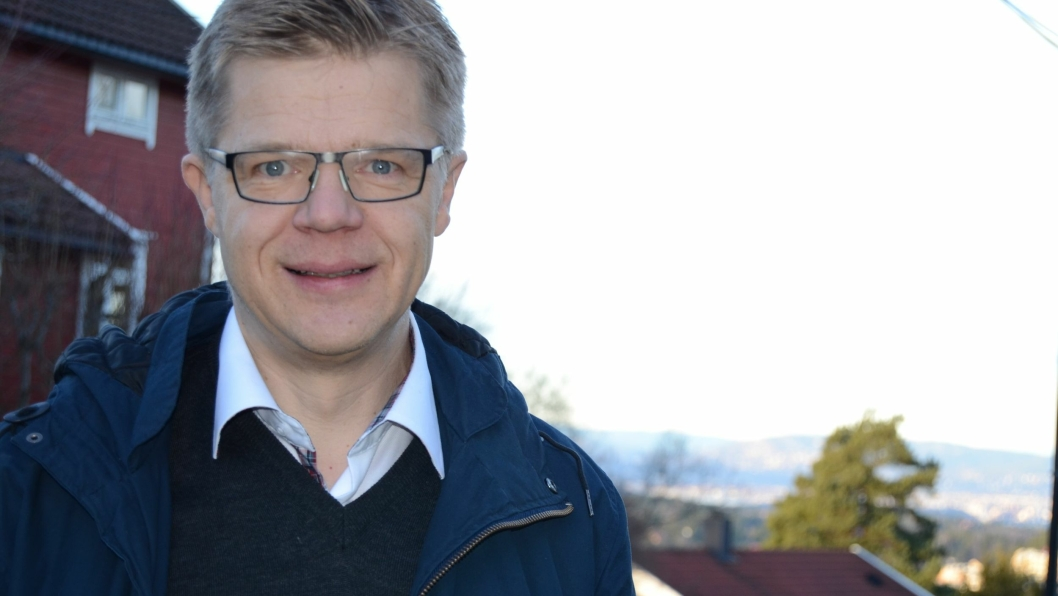 NOMINERT: Frode Saastad er en meget allsidig mann for Sofiemyr skolekorps. Hans arbeide blir nå anerkjent gjennom nominasjonen til Frilvillighetsprisen.