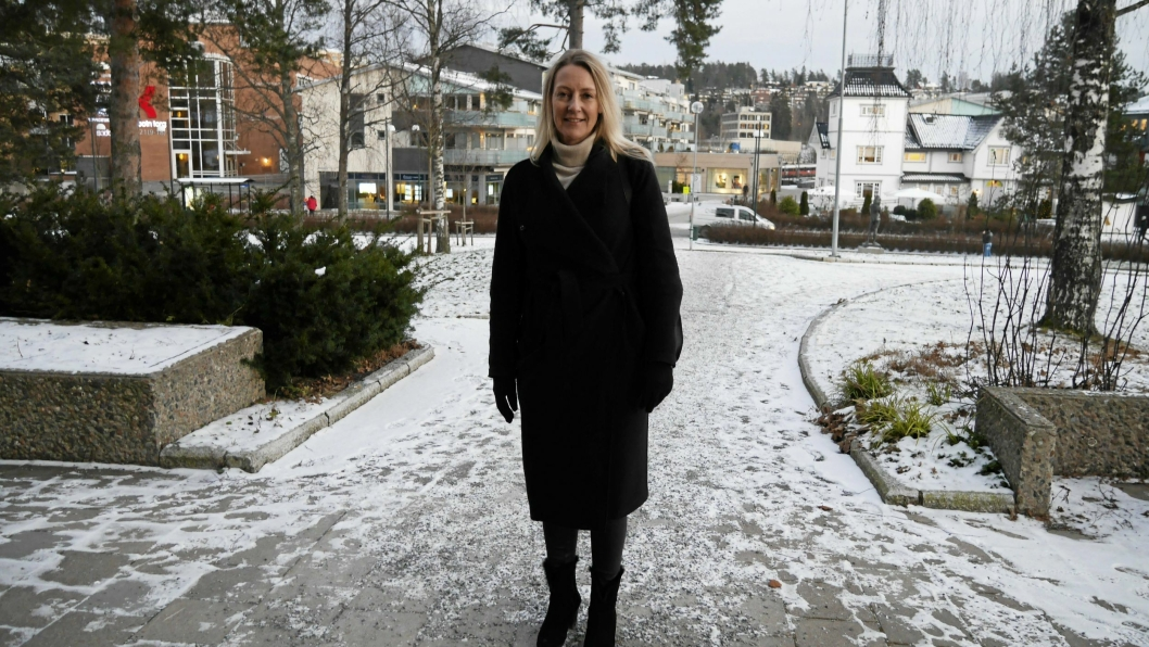 HELT IMOT: Høyres Siv Kaspersen er mildt sag tikke klar for noen lokal bompengering, slik MDG har foreslått.