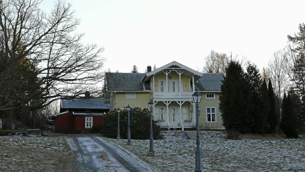 OPPEGÅRDS DYRESTE BOLIG: Denne boligen, som ligger i Roald Amundsens vei 145C på Svartskog, var Oppegårds dyrest solgte bolig i 2016.