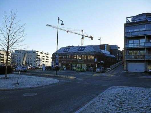 SENTRALE LOKALER: Her ser du lokalene til Foss & Co på Kolbotn.