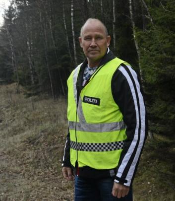 – IKKE INNAFOR: Terje Tutturen er trafikkrådgiver i Øst politidistrikt. Han har sett videoen fra vår innsender.