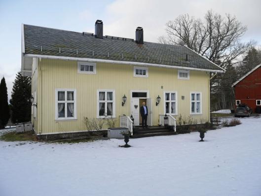 FJORÅRETS DYRESTE: Privatmegleren Kvadrat solgte Oppegårds dyreste bolig i fjor, nemlig denne villaen på Svartskog til 16.000.000 kroner.