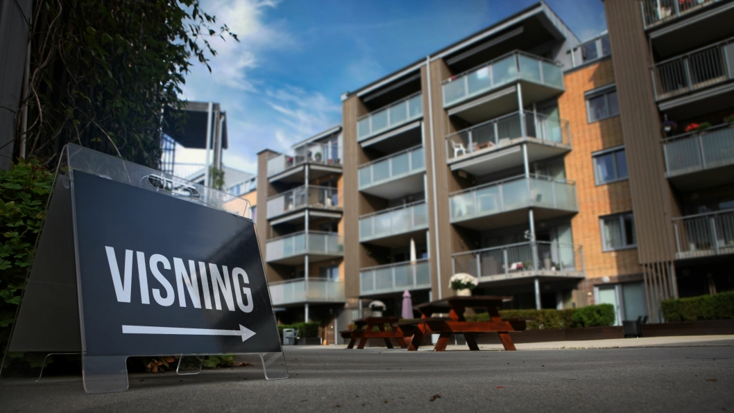 VISNINGER OVERALT: Det er et hett boligmarked her i Oppegård, og under i denne saken gir lokale meglere gode råd for året som kommer på boligmarkedet.