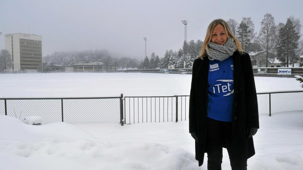 KLAR FOR NYE OPPGAVER: Hege Jørgensen forlater Kolbotn for en ny jobb i Serieforeningen For Kvinnefotball. Det er både vemodig og gledelig, ifølge fotballprofilen.