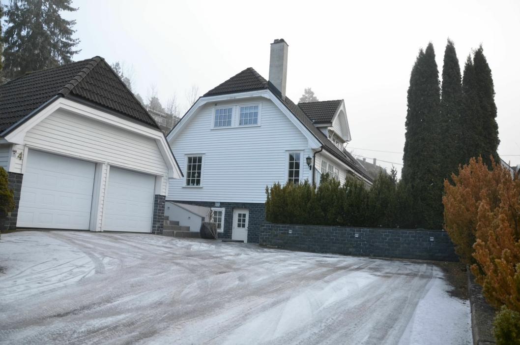 DYREST I DESEMBER: Denne boligen i Granåsbakken 4 gikk for 10.110.000 kroner den 2. desember.
