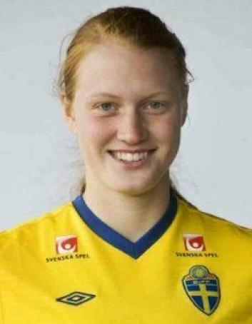 KLAR FOR KIL. 25 år gamle Sanna Svensson er klar for å skifte farge på drakten og spille for det norske toppserielaget på Sofiemyr.