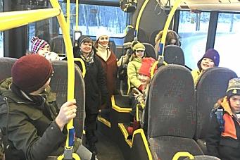 Krever bussbelter på skolebussen