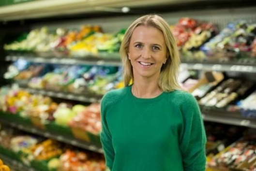 GOD ØKNING: Kommunikasjonssjef Kristine Arvin i Kiwi er fornøyd med tallene så langt i år.