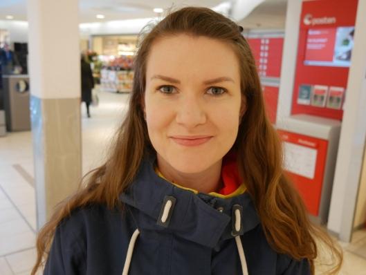 REISER UT AV KOMMUNEN: Regina Gravdal (24) fra Kolbotn.