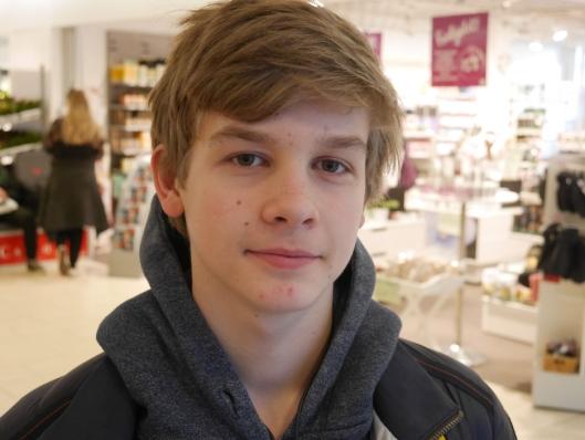 UNG KUNDE: Ola Blesterud (15), fra Kolbotn.
