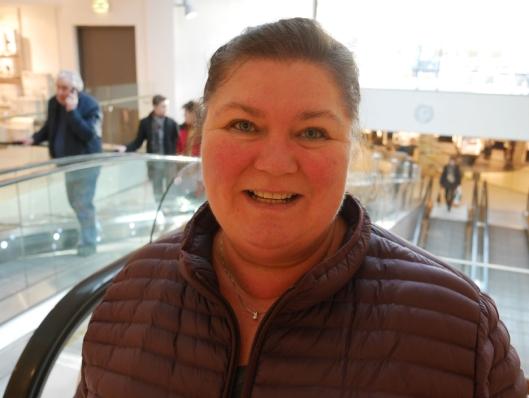GLAD I MEGA: Liv-Berit Amundsveen (51) fra Trollåsen.