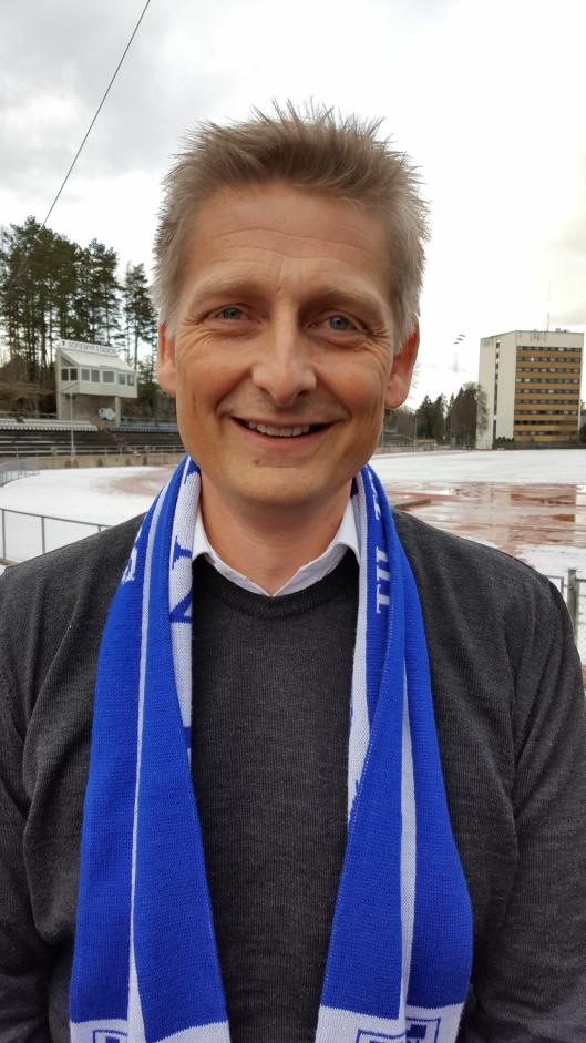 TAR OVER: Einar Engedahl gleder seg til å ta fatt på jobben som ny daglig leder for Kolbotn kvinnefotball.