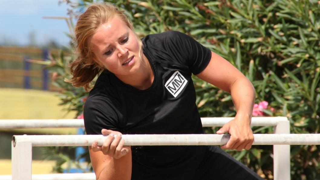 """SEMIFINALEPLASS: Oppegård-jenta Helene Olafsen (27) er klar for andre del av semifinalen i """"Mesternes Mester"""", som sendes på NRK lørdag 11. mars."""