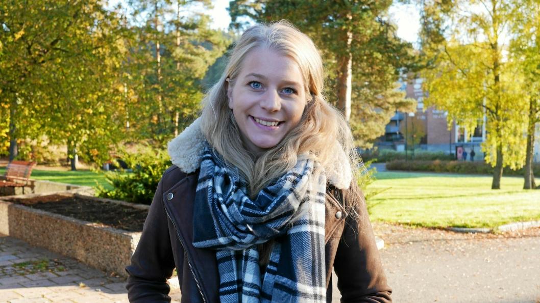 ENGASJERT: KrF-politiker Ida Lindtveit sitter i kommunestyret, men er også engasjert i politikken sentralt.