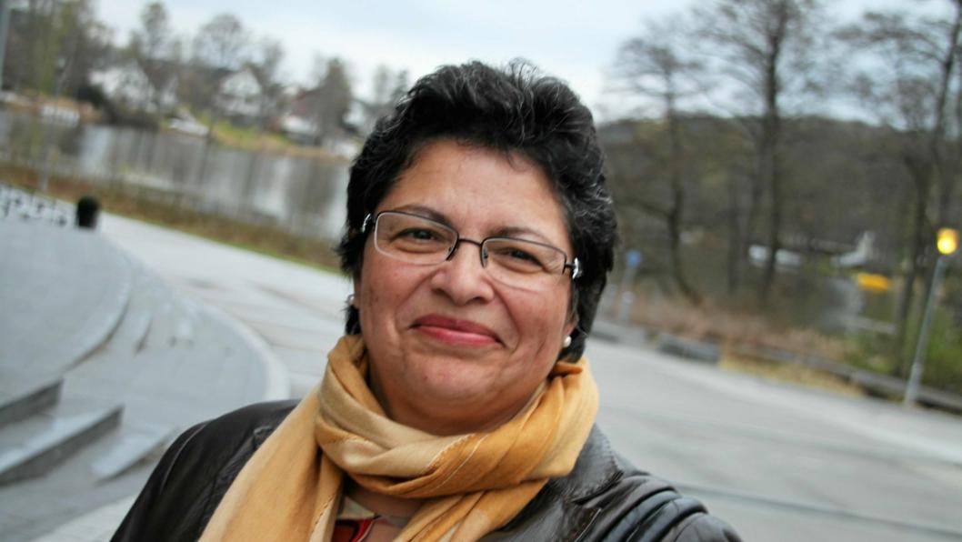 ENGASJERT: Fatima Valdes Haugstveit (Ap) er en engasjert lokalpolitiker som i dette innlegget svarer på Oppegård Avis-redaktør Anders Nordheim Dahls utfordring på kvinnedagen.