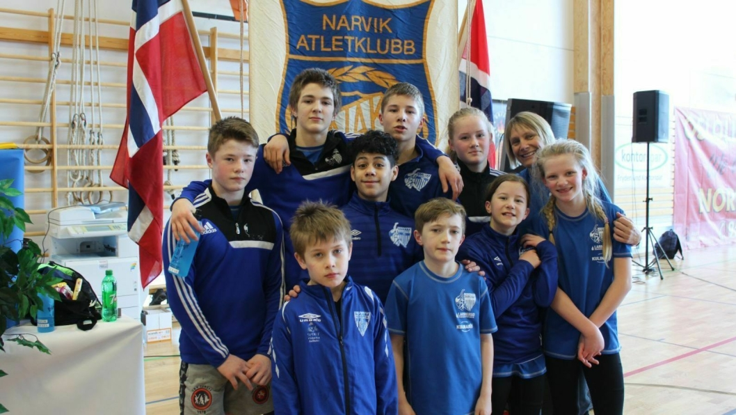 GØY MED NM: Det ble klassebryting av KIL-bryterne som vanlig under norgesmesterskapet i Narvik.