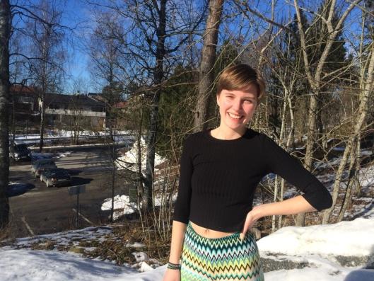 FOR ALLE: Leder i Natur og Ungdom Oppegård, Jenny Jæger synes alle burde være opptatt av å rydde i miljøet rundt seg.