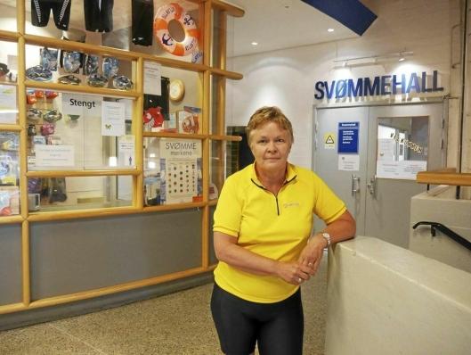 FORNØYD: Nina Vøllestad i Oppegård Idrettsråd er storfornøyd med de nye, politiske hall-signalene.