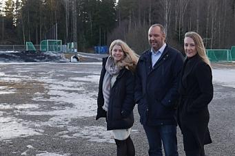 – Målet er å få idrettshallen på Sofiemyr ferdig i 2019