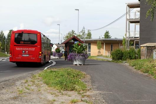 MANGE KJØRER KOLLEKTIVT: Oppegård er en kommune hvor mange kjører kollektivt, både internt i kommunen, men også inn og ut av Oslo.