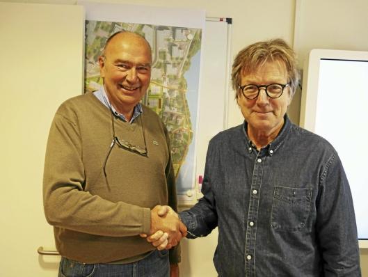 SAMARBEIDET I 30 ÅR: Det var Terje Ruud fra Kolbotn som inviterte Petter Bogen til Kolbotn.