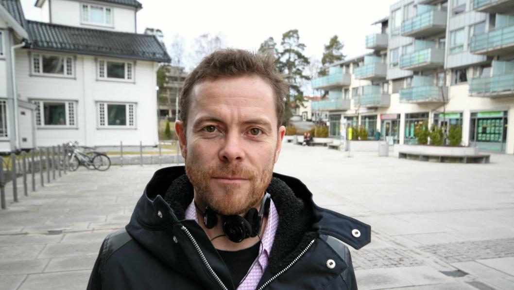 KLAR FOR SVØMMEHALL: MDGs kommunestyrerepresentant Jens Nordahl mener å bygge et folkebad i Kolbotn sentrum er genialt.