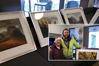 Aune Sand overrasket sykehjemmet med fantastisk gave!