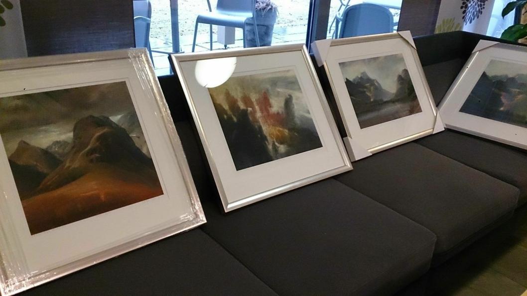 NYDELIGE BILDER: De tolv bildene er flotte motiver, signert Marianne Auli og Vebjørn Sand.
