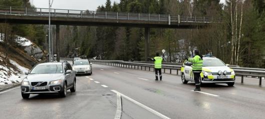 Fire førerkortbeslag på Svartskog