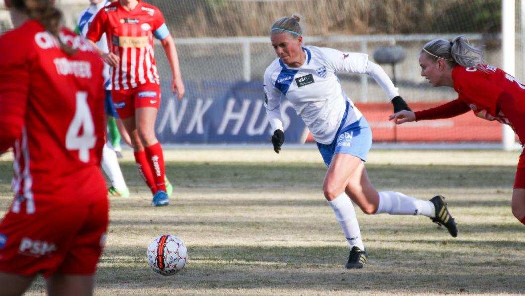 SUPERGOD: Solveig Gulbrandsen var tilbake på banen - for én kamp, ifølge henne selv.