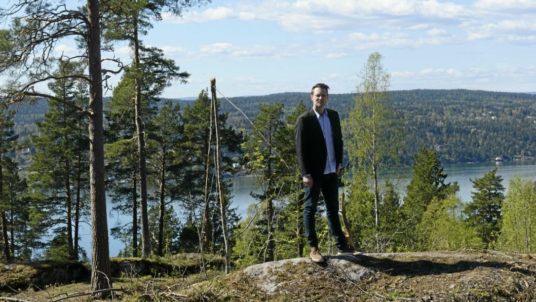 FANTASTISK SVARTSKOGIDYLL TIL SALGS:: Alle tomtene har utsikt mot Bunnefjorden.