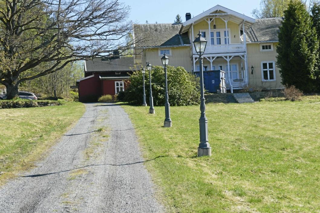 OPPEGÅRDS DYRESTE: Villaen på Svartskog er den dyrest omsatte boligen i Oppegård så langt i år.