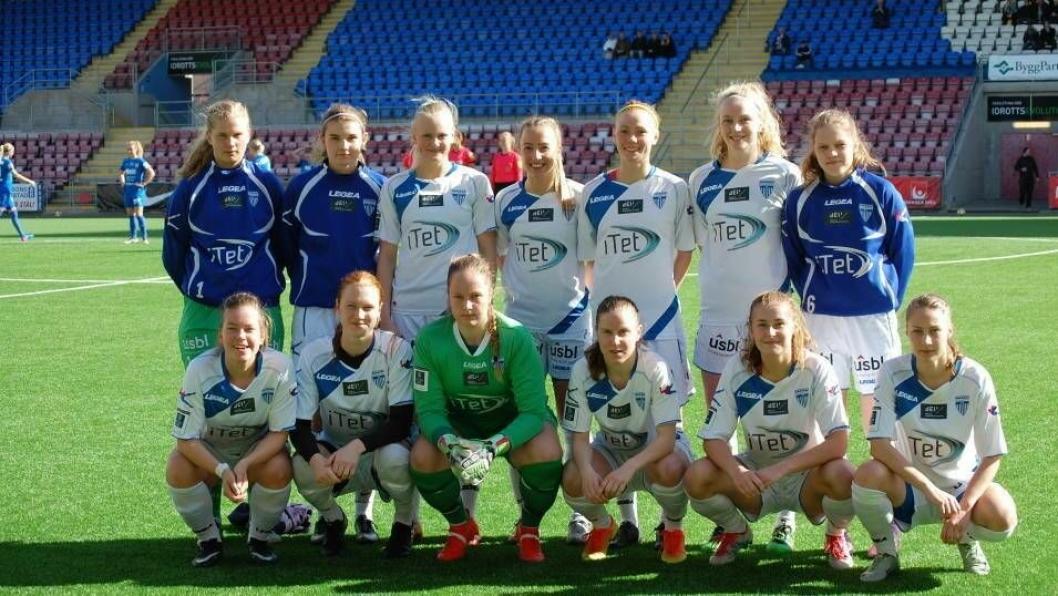 KLARE FOR KAMP: Kolbotn er klare for å kjempe igjen - denne gangen mot Stabæk.