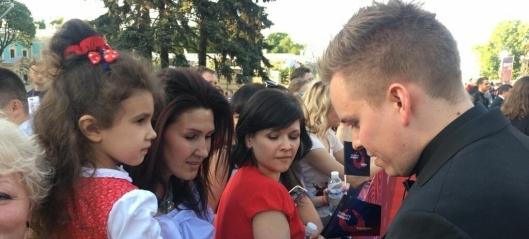 Bildespesial og video: JOWST i Kiev
