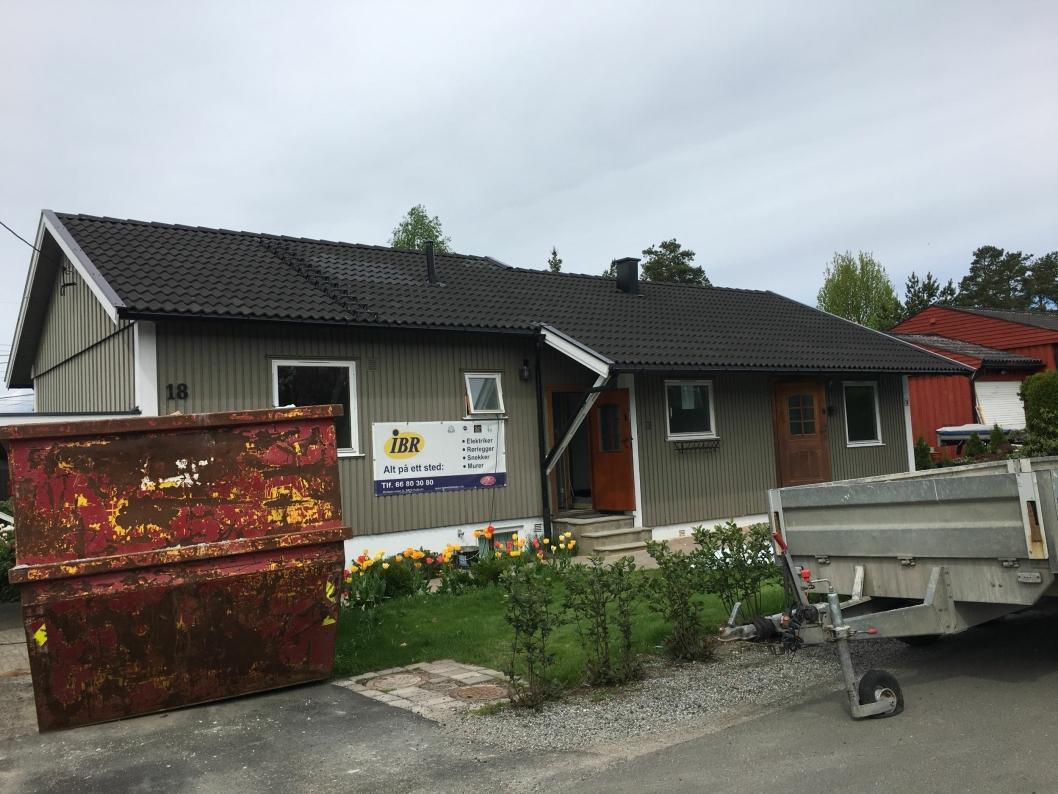 PÅ TIENDEPLASS: Denne boligen i Wellhavens vei 18 på Sofiemyr gikk for 6.200.000 kroner den første uken i april.